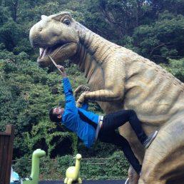 I wanted to feed a dinosaur...