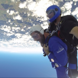 16,000 ft. skydive, Coast of NZ